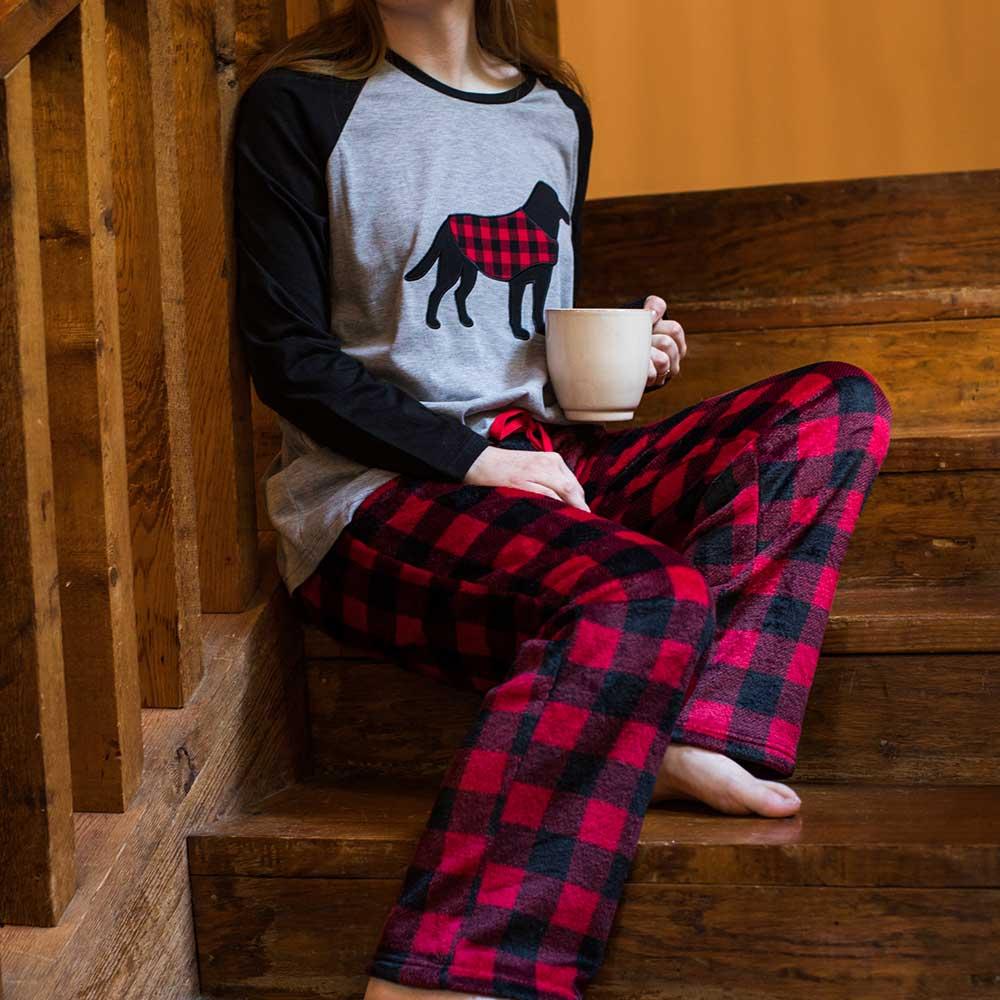 Women's PJ Set Lifestyle Image