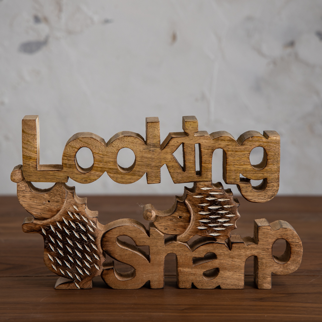 Looking Sharp Hedgehog Decor