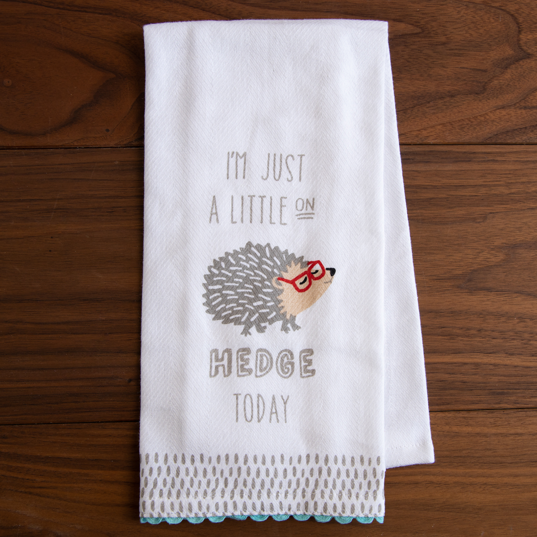 Hedgehog Kitchen Towel